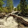 Waterfall<br /> Grand Teton National Park