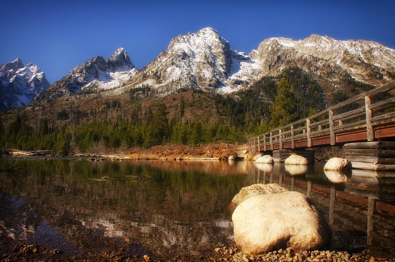 Bridge over String Lake