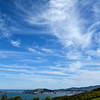 Wispy cloud formation over Wellington on a sunny spring day. October 23, 2016