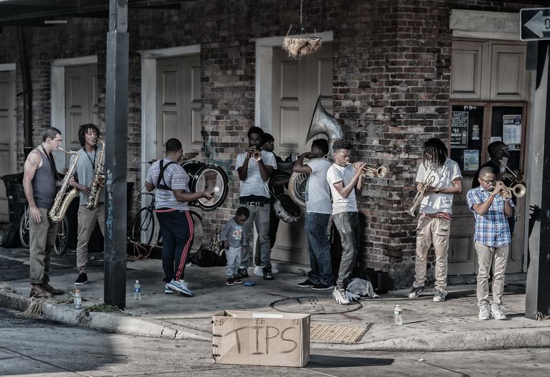 New Orleans,  LA street band