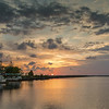 Sunset on the lake -  Big Lake,  LA