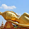 The Reclining Buddha at That Luang