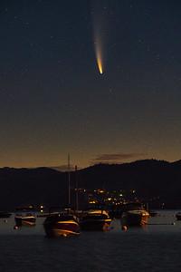 Comet Neowise Tahoe 2020-2