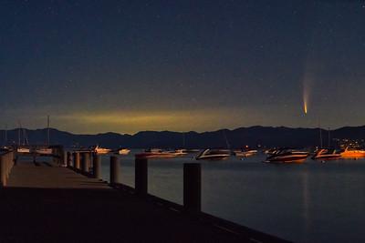 Comet Neowise Tahoe 2020-1