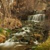 Small waterfall at Shoshone Falls