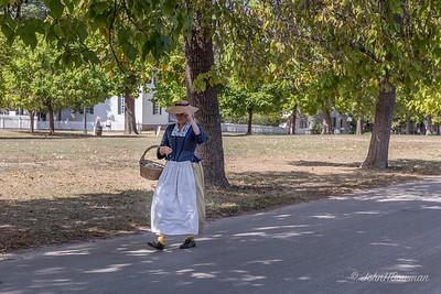 Time Traveler - Palace Green, Near Duke of Gloucester Street