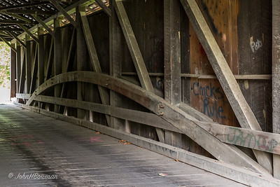 Interior, Witherspoon Bridge - Franklin County