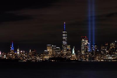 9/11 Memorial Lights - 2020