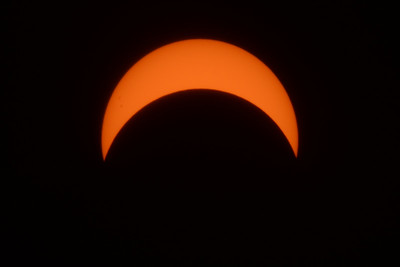 Solar Eclispse - View from Northern New Jersey