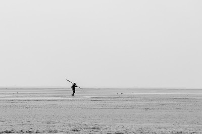 Le pêcheur solitaire (The lone fisherman)