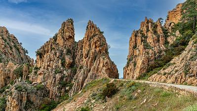 Les Calanques de Piana (Sevinfuori - Haute Corse)