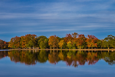 Fall Colors at Belmont Lake
