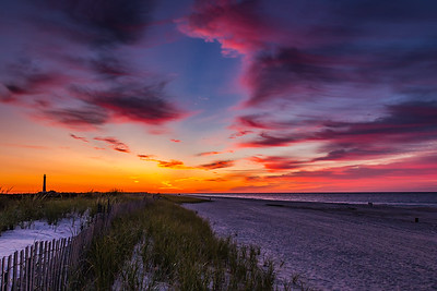 Morning Colors over Fire Island