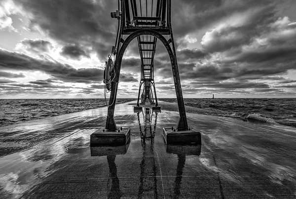 Dramatic Grand Haven Catwalk