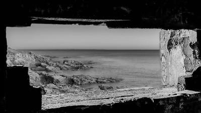 Bunker avec vue mer (Bunker with sea view)