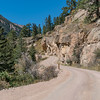 Starting the Drive up Old Fall River Road, Rocky Mountain National Park.