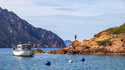 La baie de Girolata (Porto - Sevinfuori - Haute Corse) - Girolata bay