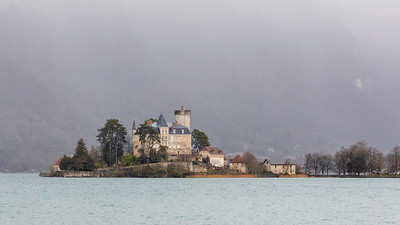 Le château de Duingt