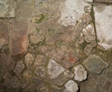 Roman Baths Floor, Bath, UK