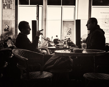 Café de Flore, Boulevard St. Germaine, Paris