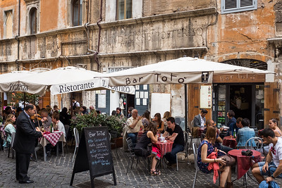 The Ancient Jewish Ghetto Neighbourhood, Rome