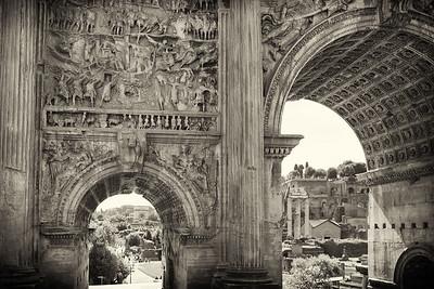 Septimus Severus Arch, Roman Forum, Rome