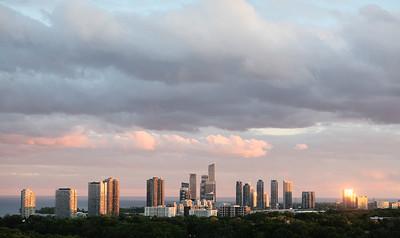Toronto Skyline - Humber Bay