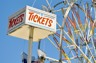 Tickets at Ferris Wheel