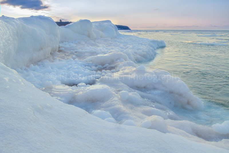 Lake Superior Ice Formations, Wisconsin, USA