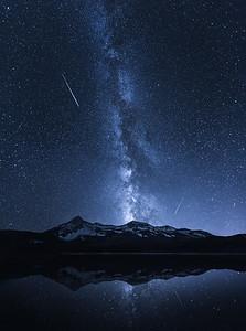 Galaxies Reflection