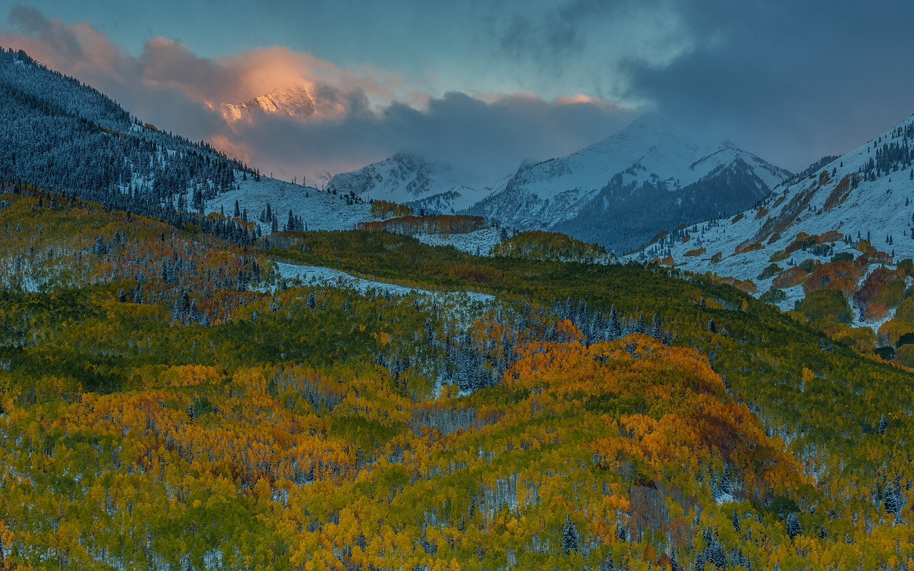 Capital Peak Fall Colors