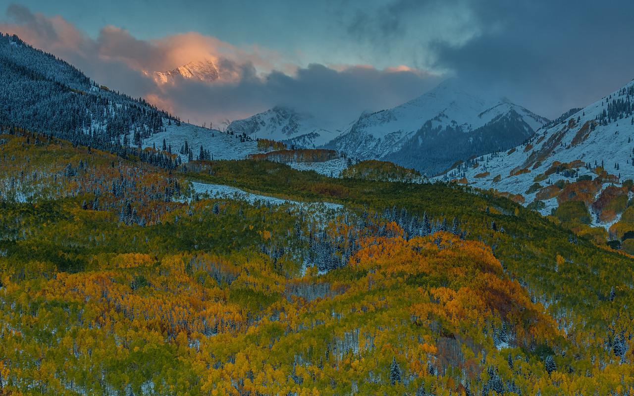 Capital Peak Fall Colors