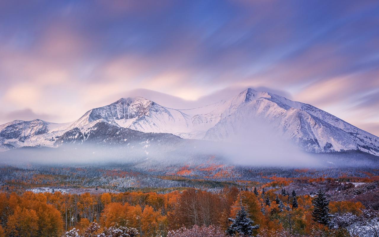 Mount Sopris Sunrise