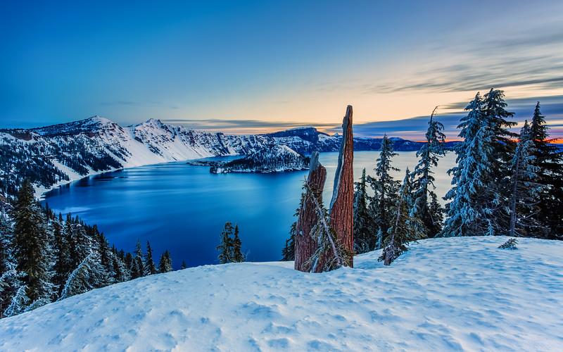 Crater Lake Sunrise I