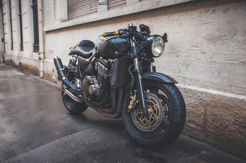 Rainy Day Motorcycle