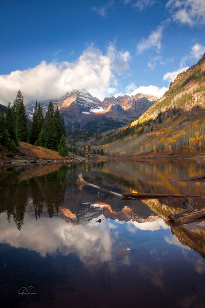 MAROON LAKE REFLECTIONS - Aspen, CO