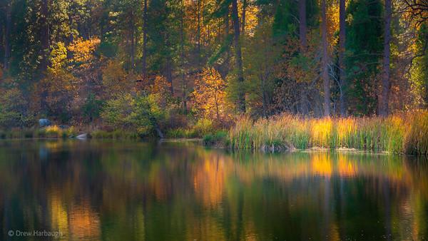 Late Autumn at Manzanita Lake