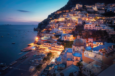 Magical Lights of Positano
