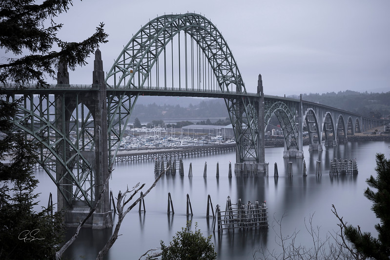 BAY BRIDGE - Newport, OR