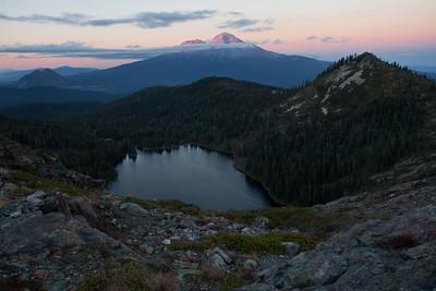 Mt. Shasta at Sunset