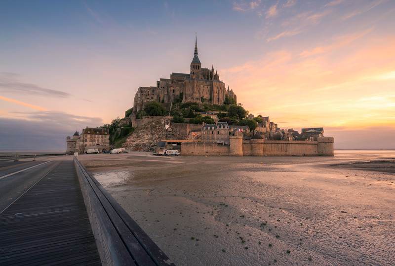 Morning Glory Mont St Michel