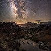 Mammoth Hot Creek Milky Way