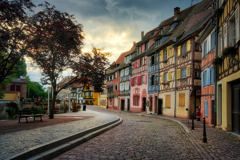 Early Morning in Colmar