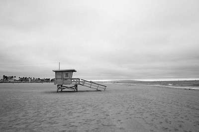 Film Emulation - Venice Beach Black and White