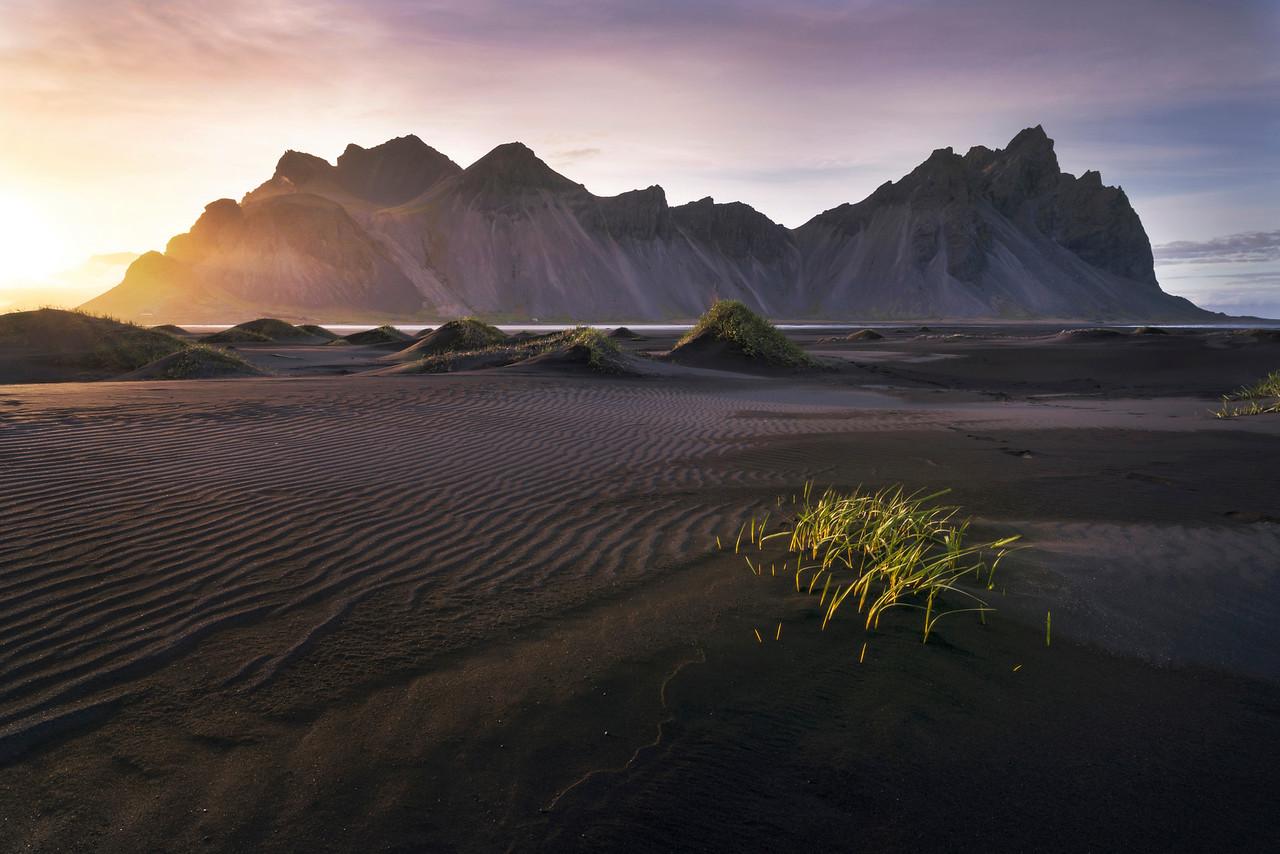 The Black Sands of Stokksnes