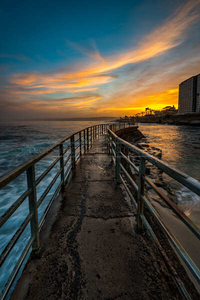 """Seawall Sunrise"""