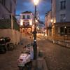 Montmartre Paris at Night