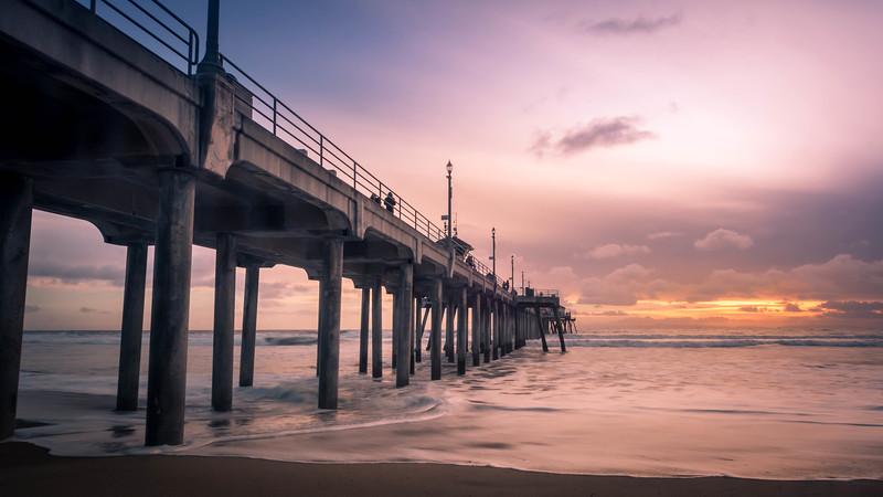 Beach Evening - Huntington Beach, CA, USA