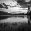Bass Lake at Sunset