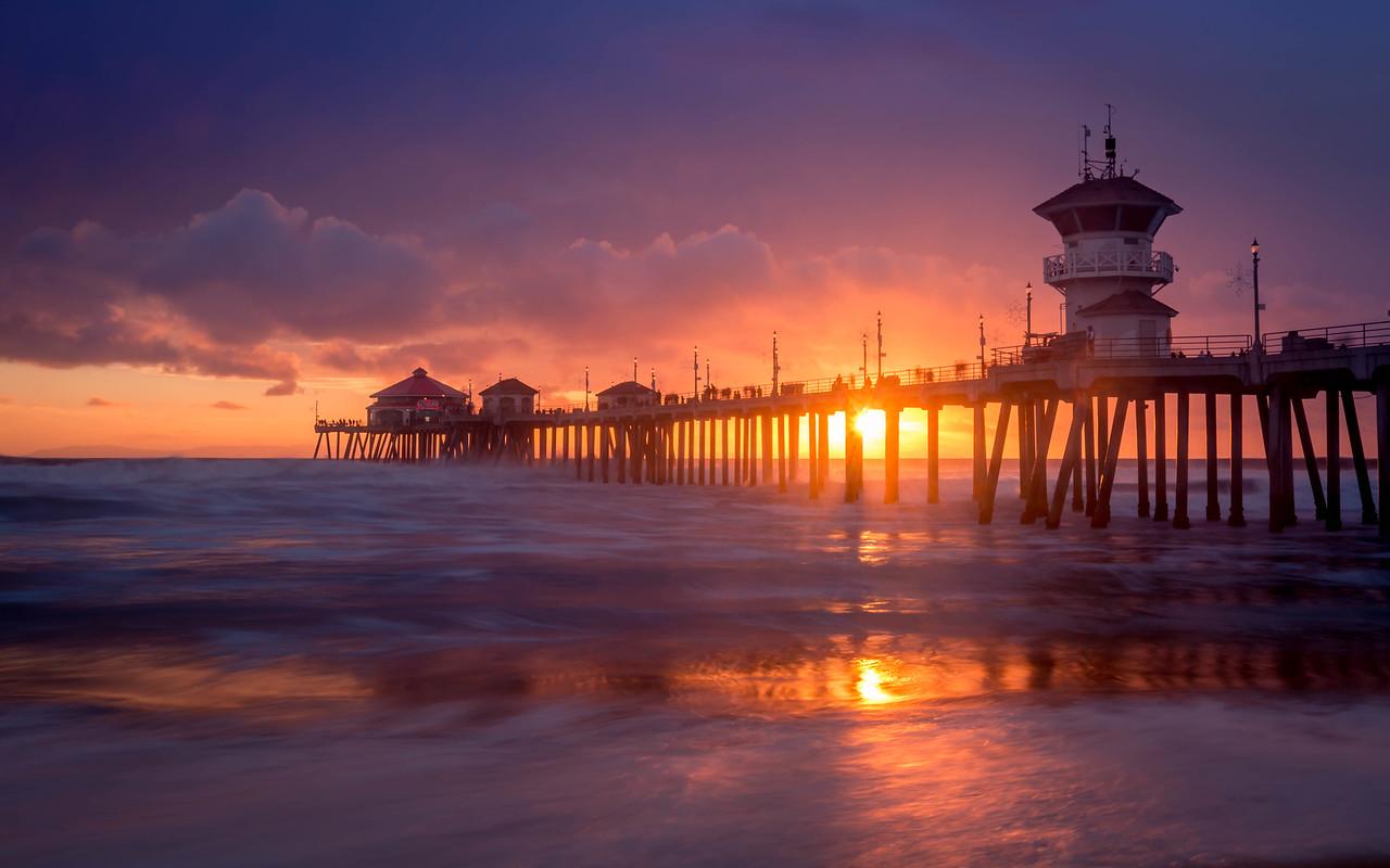 Day's End - Huntington Beach, CA, USA